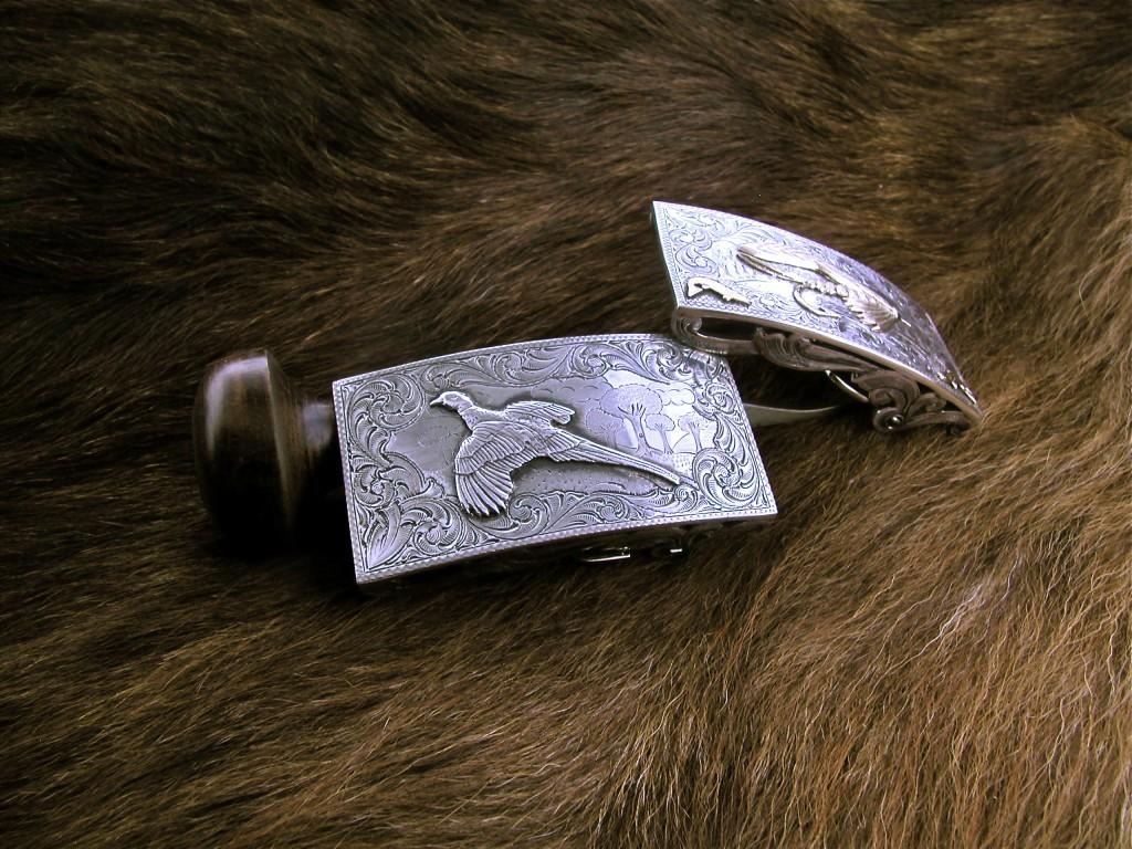 Silver Pheasant Buckle