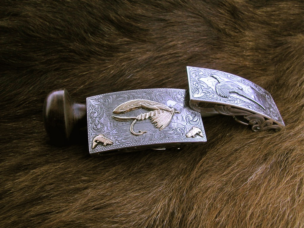 Gold Large Fly Buckle