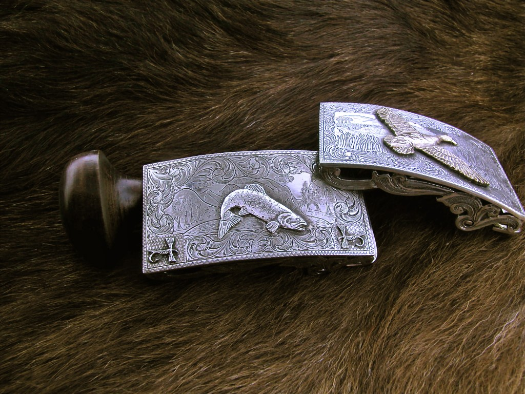 All Silver Fish And Flies Buckle