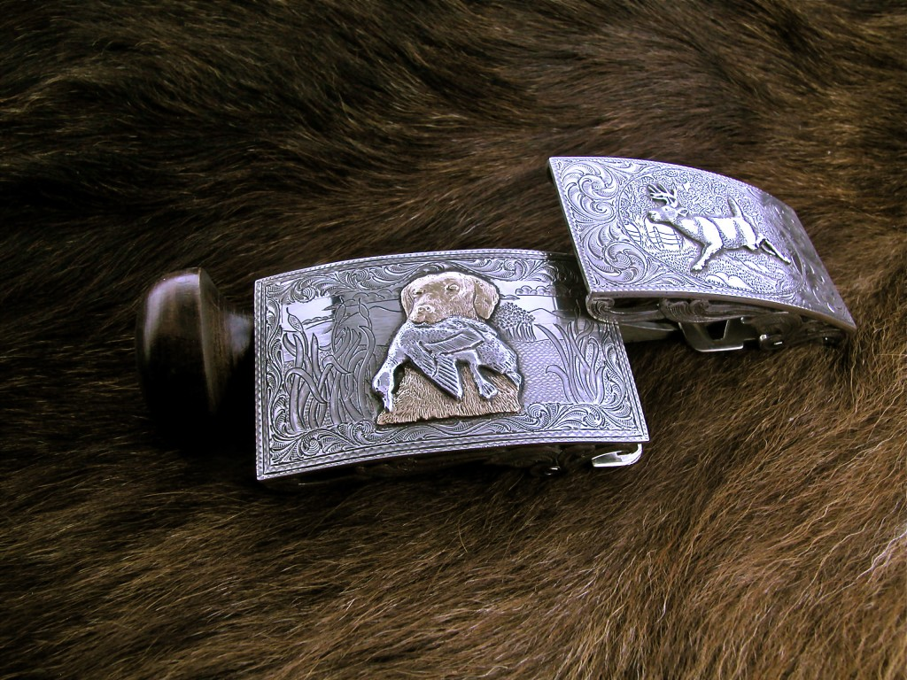 Dog And Duck Buckle