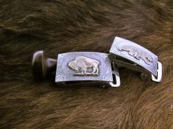 Gold Buffalo Buckle