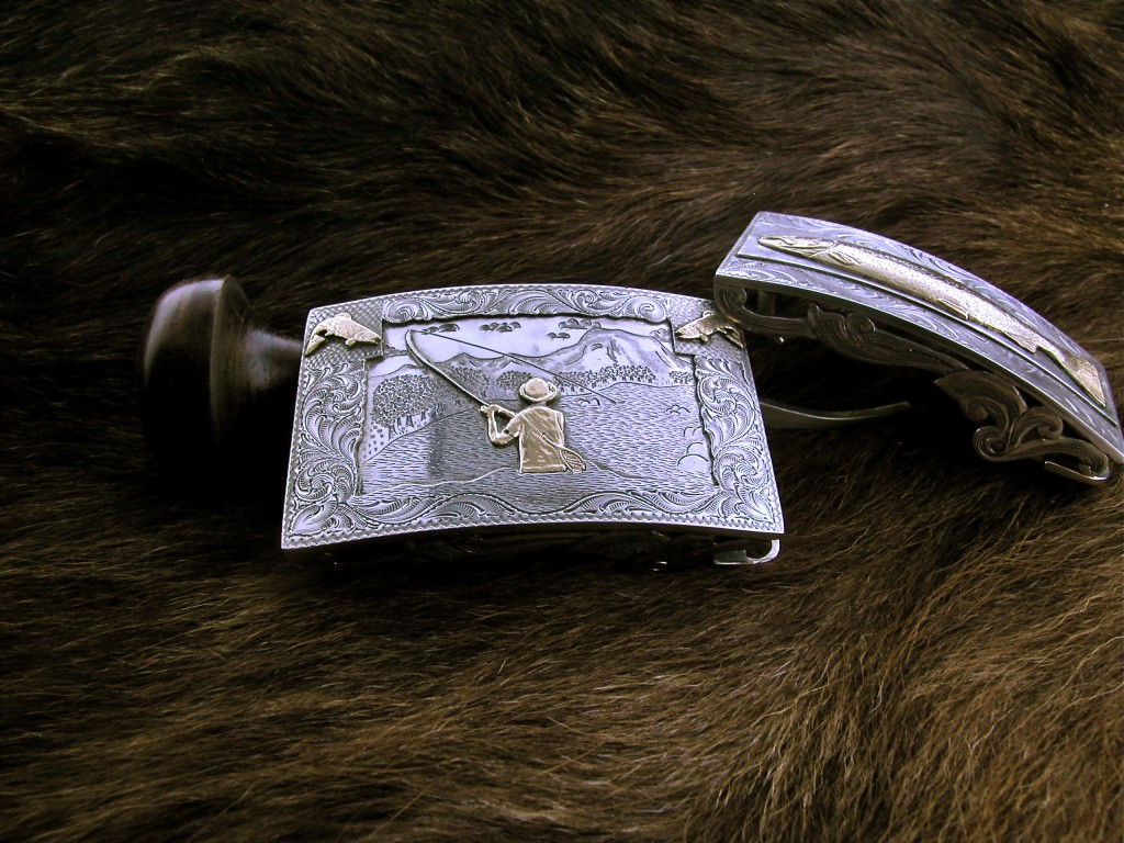 Fly Fisherman Buckle