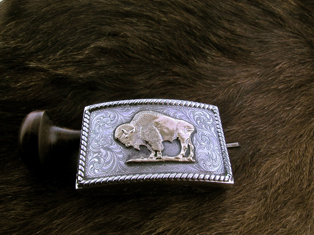 Large Buffalo buckle